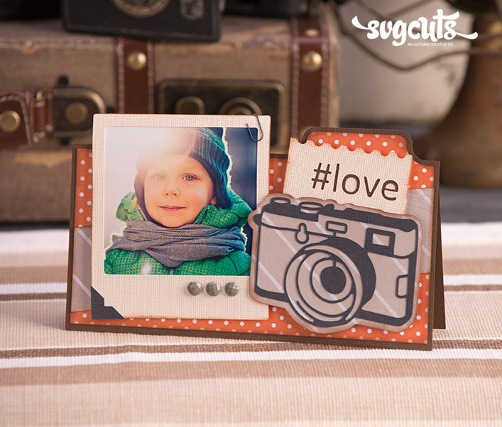 Instant Photo Card (Love) - Click Image to Close