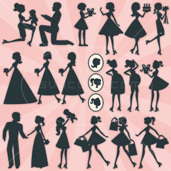 Kate's Silhouettes SVG Collection - Click Image to Close