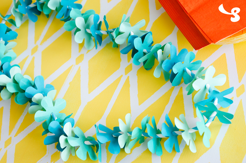 Lei and Palm Leaf - Click Image to Close