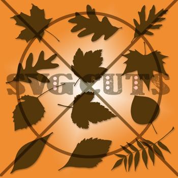 Serene Leaves SVG Collection - Click Image to Close
