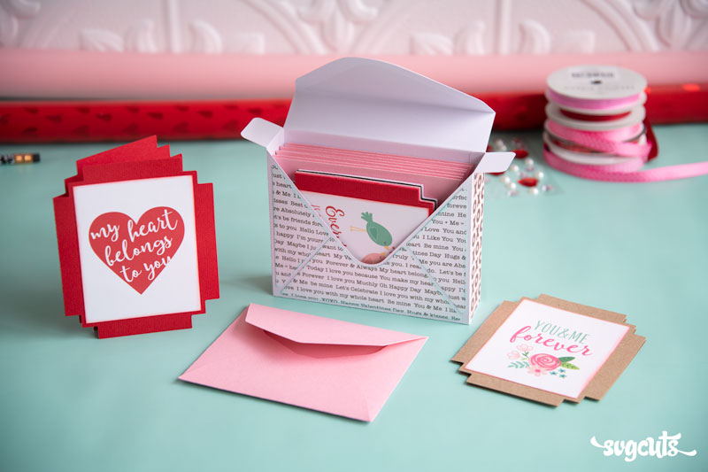 Love Letters SVG Kit - Click Image to Close
