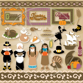 Our Thanksgiving Gathering SVG Collection - Click Image to Close
