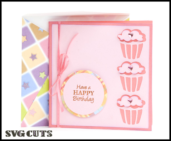 3D Birthday Cards SVG Kit - Click Image to Close