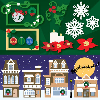 Christmas in the Village SVG Collection - Click Image to Close
