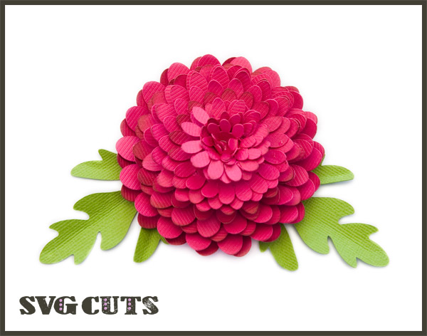 3D Mums and Fall Flowers SVG Kit - $6 99 : SVG Files for