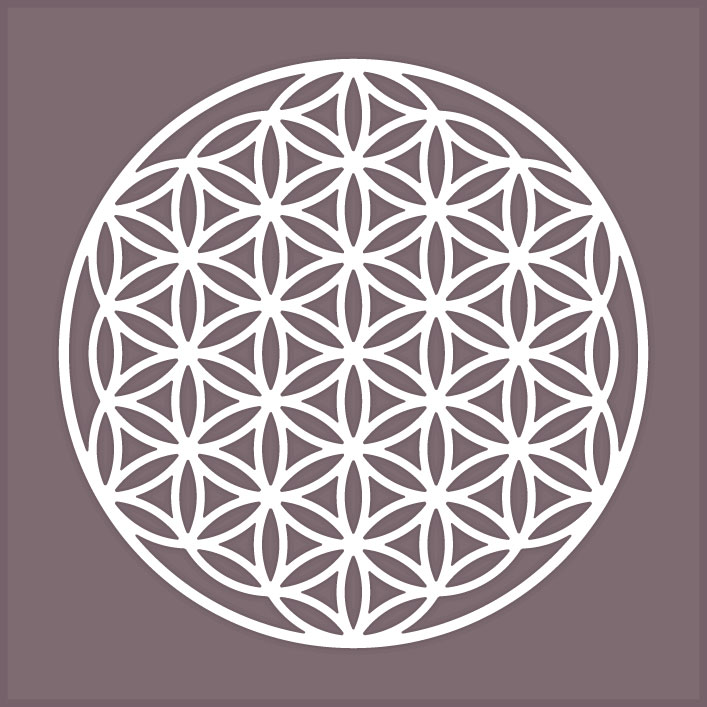 Flower Of Life Symbol 299 Svg Files For Cricut Silhouette