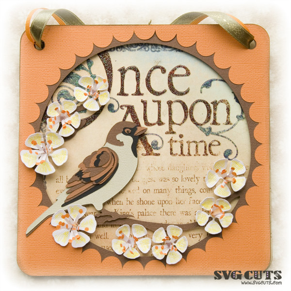 Enchanted Sparrow Paperscape SVG Kit - Click Image to Close