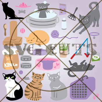 Frisky Felines SVG Collection
