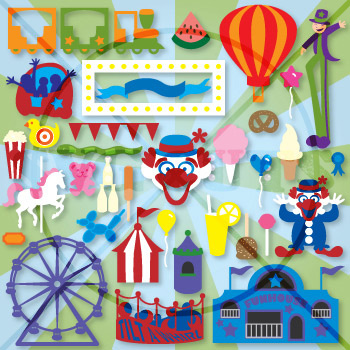 A Day at the Carnival SVG Collection