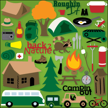 Camping at Fox Ridge SVG Collection