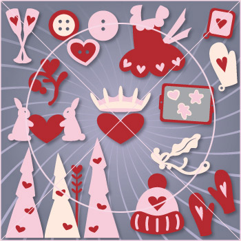Valentine Country Home Elements SVG Collection - Click Image to Close