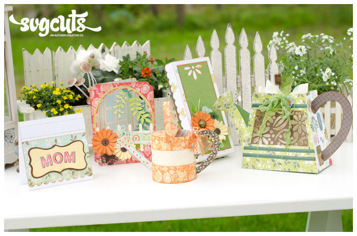 Mother's Garden SVG Kit - Click Image to Close