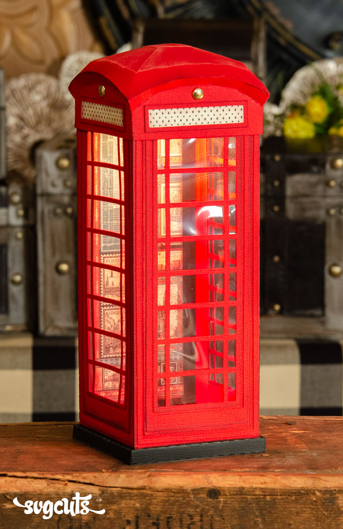 Red Telephone Box - Click Image to Close