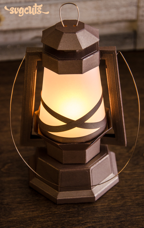 Rustic Lantern - Click Image to Close