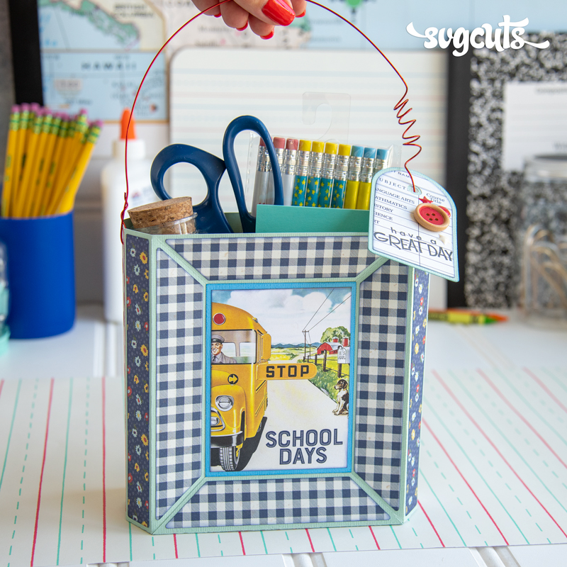School Supplies SVG Kit - Click Image to Close