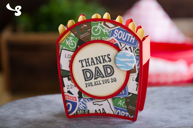 Side of Fries Box Card - Click Image to Close