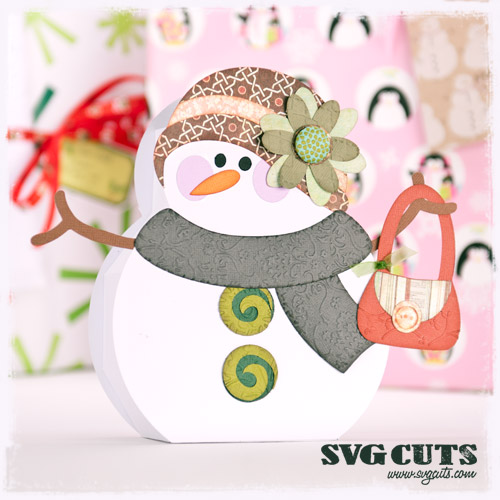 Snowmen Village SVG Kit - Click Image to Close