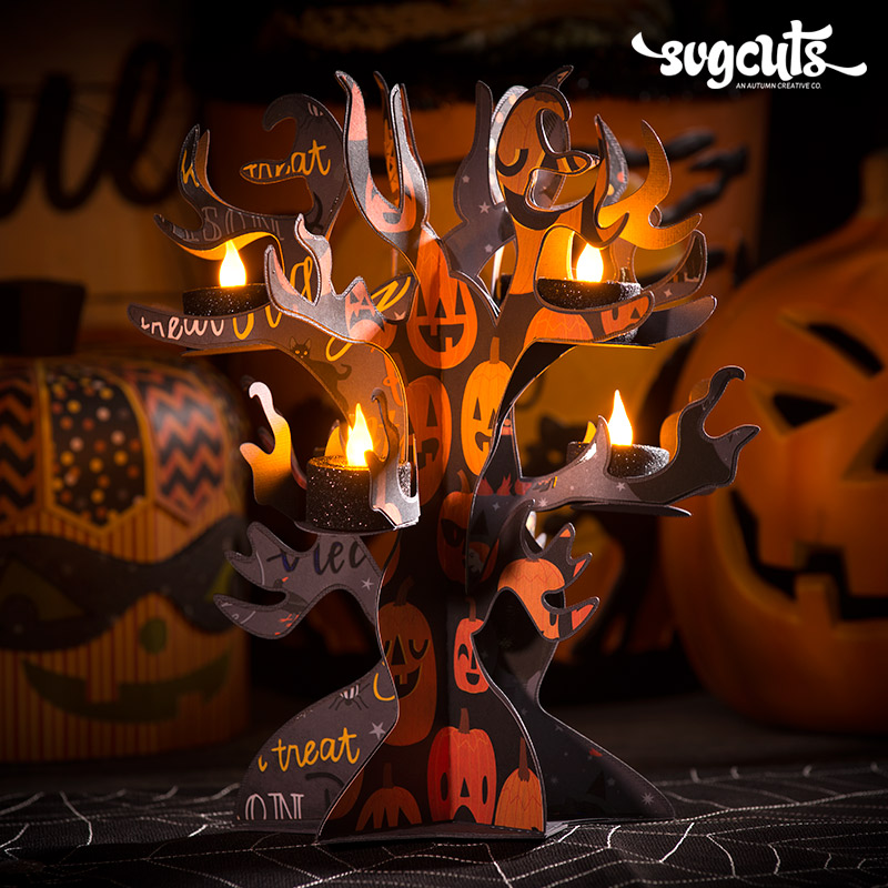 Spooky Soiree SVG Kit - Click Image to Close