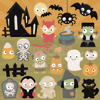 Spooky Cuties SVG Collection - Click Image to Close
