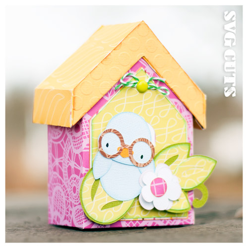 Spring Birdhouses SVG Kit - Click Image to Close