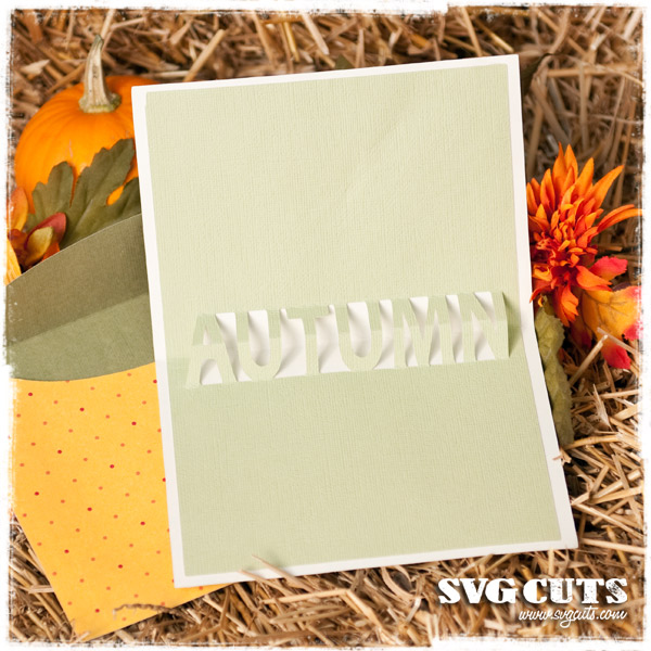 Fall Pop-Up Cards SVG Kit - Click Image to Close