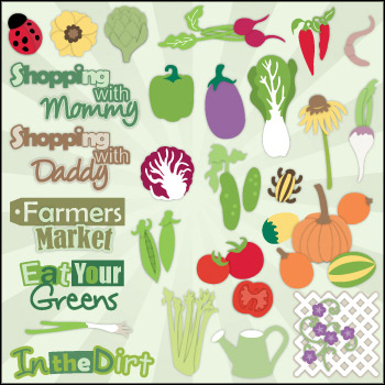 Veggie Garden SVG Collection Part II