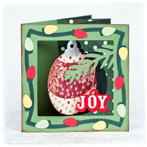 Holly Jolly Lever Cards SVG Kit - Click Image to Close
