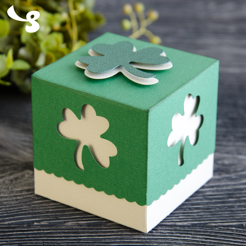 Lucky Day Bags and Boxes SVG Kit - Click Image to Close