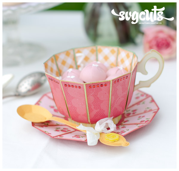 Tea For You and Me SVG Kit - Click Image to Close
