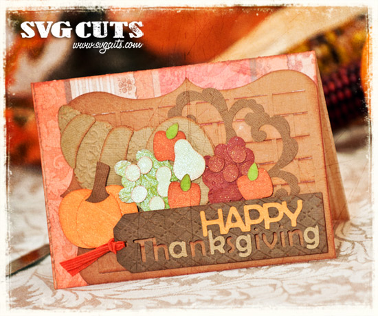 Thanksgiving Dinner SVG Kit - Click Image to Close