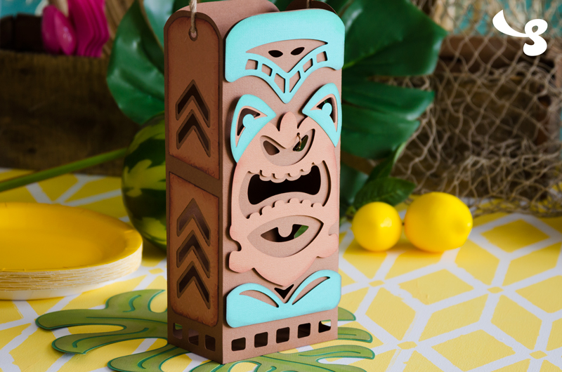 Tiki Bag - Click Image to Close
