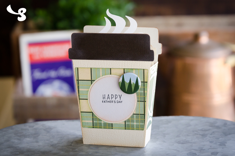 To-Go Coffee Box Card - Click Image to Close