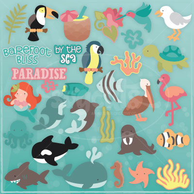 Tropical Friends SVG Collection