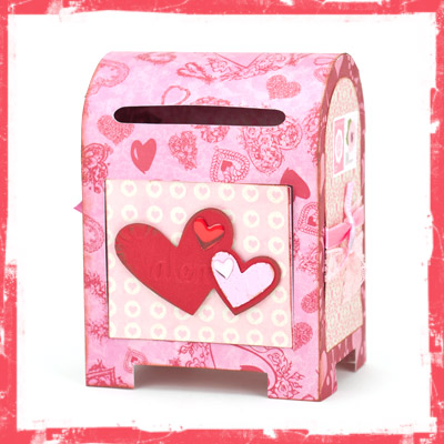 Mailbox Ideas For Valentines Valentine Mailboxes Svg Kit