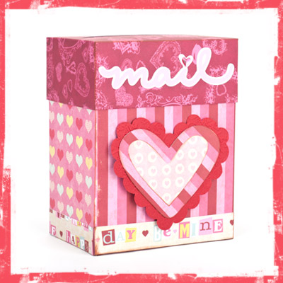 Valentine Mailboxes SVG Kit - Click Image to Close