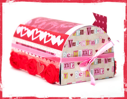 valentine mailboxes svg kit - Valentine Mailboxes
