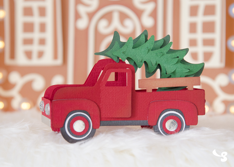 Vintage Truck Box Card 1 99 Svg Files For Cricut Silhouette Sizzix And Sure Cuts A Lot Svgcuts Com