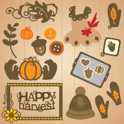 Harvest Country Home SVG Collection