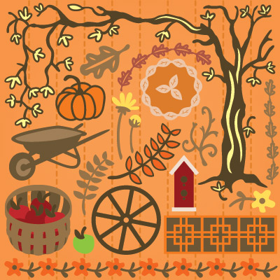 September Afternoons SVG Collection