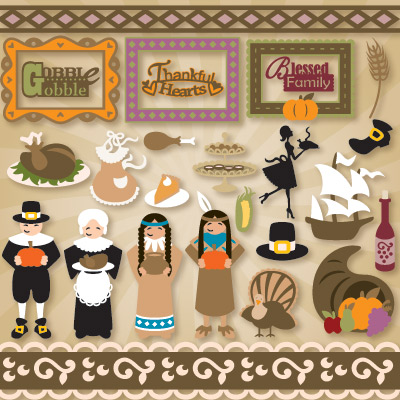 Our Thanksgiving Gathering SVG Collection