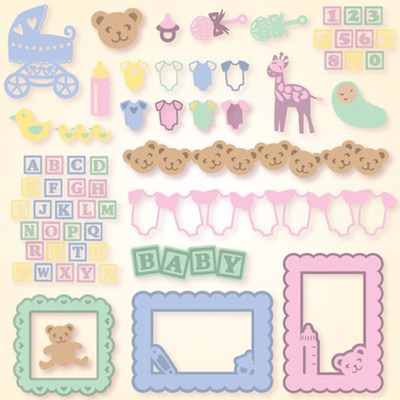 Baby Elements SVG Collection