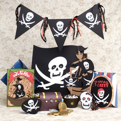 Pirate Birthday Party SVG Kit