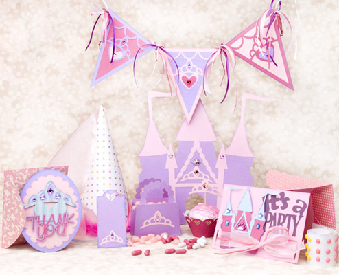 Princess Birthday Party SVG Kit