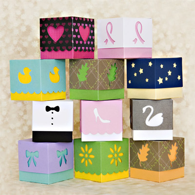 Charlottes Favor Boxes SVG Kit