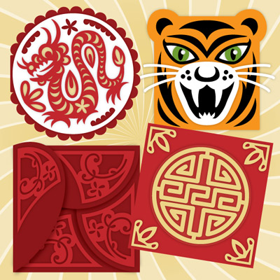 Chinese New Year SVG Kit