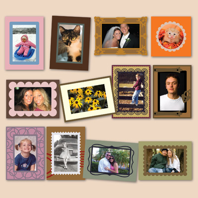 Photo Cards SVG Kit