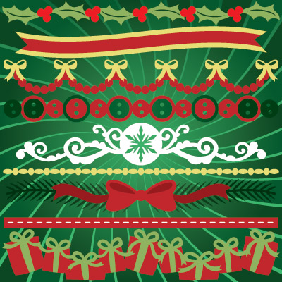 Clara's Christmas Strips SVG Collection