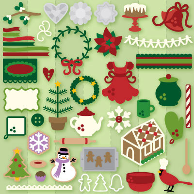 Christmas Cookie Party SVG Collection
