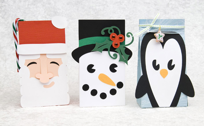 Frosty Friends Treat Sacks SVG Kit