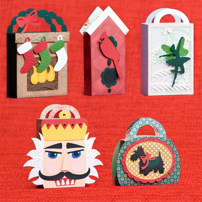 Christmas Gift Bags SVG Kit